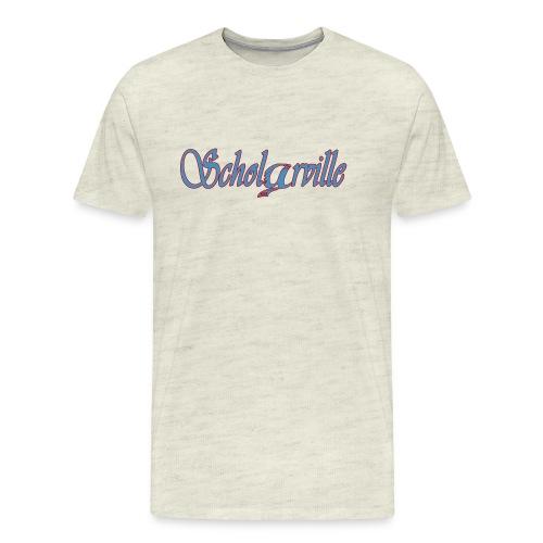 Welcome To Scholarville - Men's Premium T-Shirt