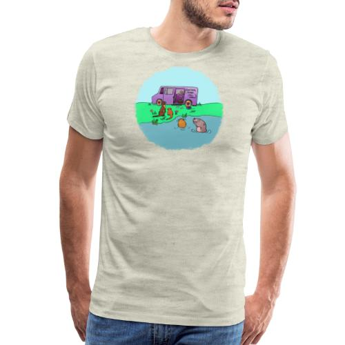 Sleve and the River Otters - Men's Premium T-Shirt