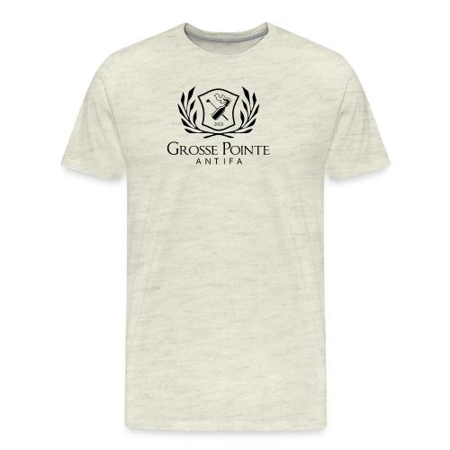 Grosse Pointe Antifa symbol - Men's Premium T-Shirt