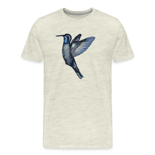 Hummingbird in flight - Men's Premium T-Shirt