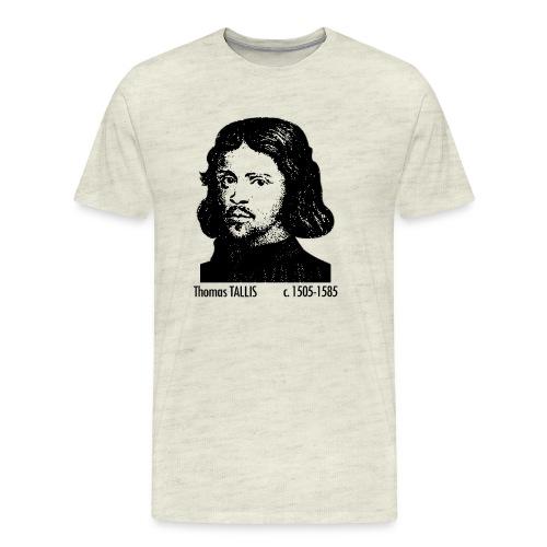 Thomas Tallis Portrait - Men's Premium T-Shirt