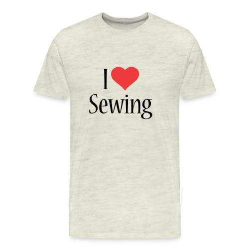 I Love Sewing - Men's Premium T-Shirt