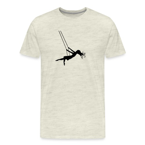 Swinging Girl - Men's Premium T-Shirt
