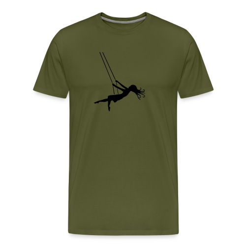 Swinging Girl - Men's Premium T-Shirt