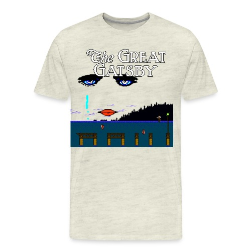 Great Gatsby Game Tri-blend Vintage Tee - Men's Premium T-Shirt