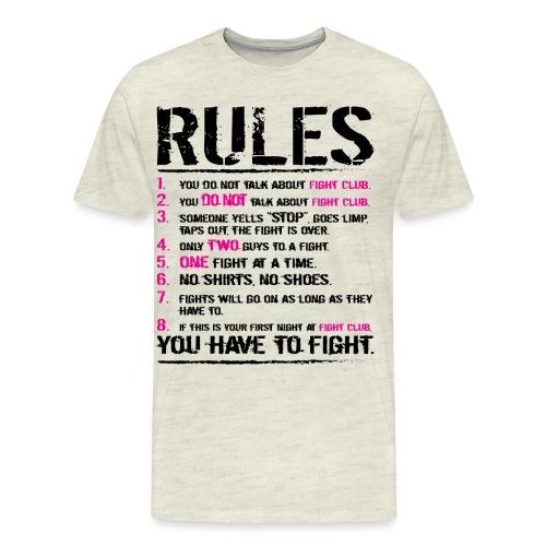 The Rules - Men's Premium T-Shirt