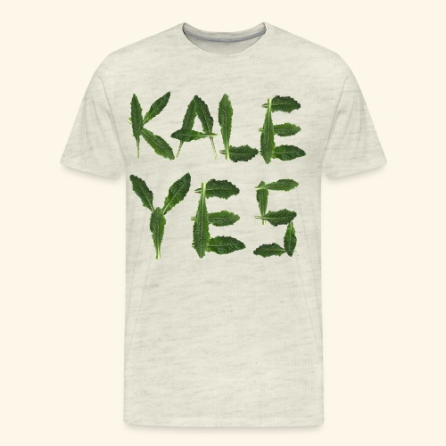 KaleYes Hell Yes - Men's Premium T-Shirt