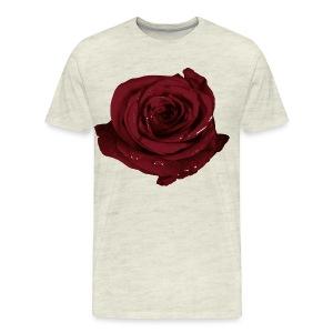 Two Realistic Pink Roses Mens Tank Top Shirt