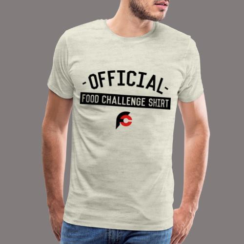 Official Food Challenge Shirt 2 - Men's Premium T-Shirt