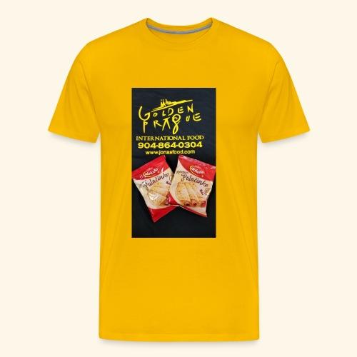 Golden Prague - Men's Premium T-Shirt
