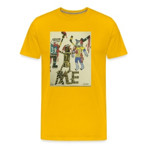 A pens two back to back on the attack - Men's Premium T-Shirt
