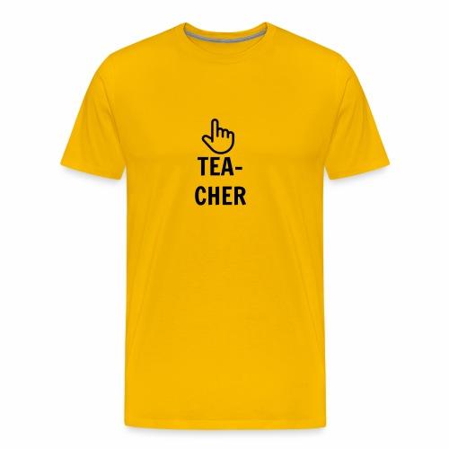 TEACHER TEE - Men's Premium T-Shirt