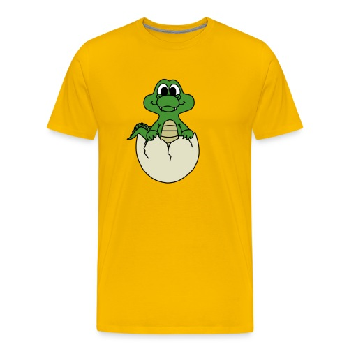 Crock Hatchling - Men's Premium T-Shirt