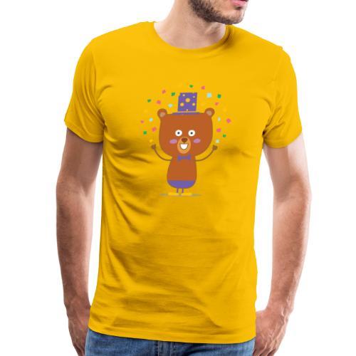 Bobby Bear - Men's Premium T-Shirt
