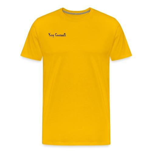 Yung Crosswalk - Men's Premium T-Shirt