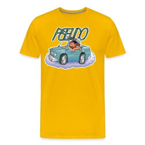 PSEUDO SLIM - Men's Premium T-Shirt