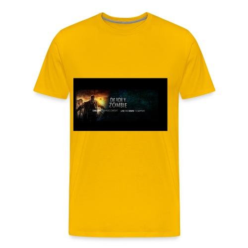 Deadly_Zombies_-1- - Men's Premium T-Shirt