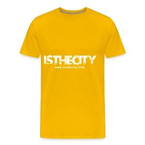IstheCITY.com White - Men's Premium T-Shirt