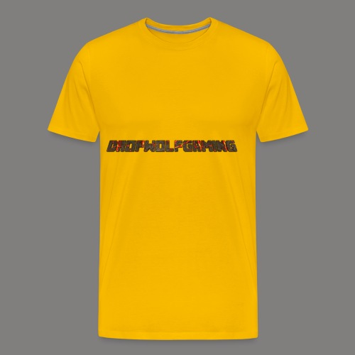 DropWolfGaming - Men's Premium T-Shirt