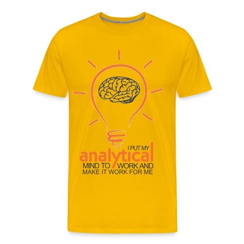 ANALYTICAL MIND - Men's Premium T-Shirt