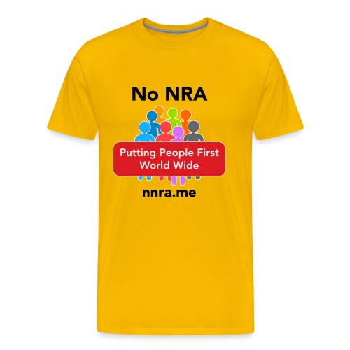No to the NRA - Men's Premium T-Shirt