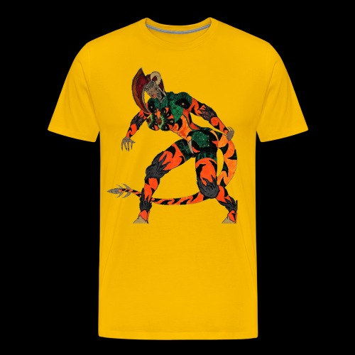Saurosapien-ARC of IACF - Men's Premium T-Shirt
