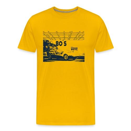 80s Car - 80´s Wave - Men's Premium T-Shirt