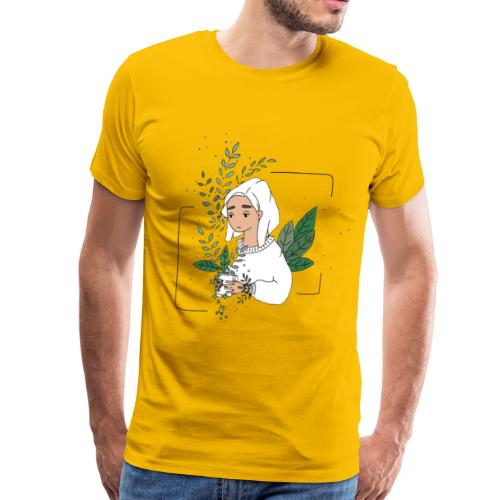 Plant Aesthetic - Men's Premium T-Shirt