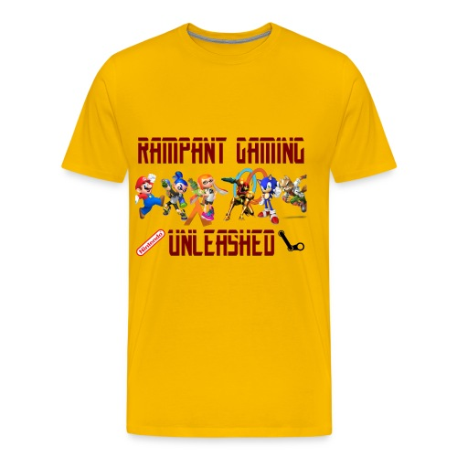 Rampant Gaming Unleashed - Men's Premium T-Shirt
