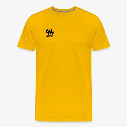 94 jezzus black - Men's Premium T-Shirt