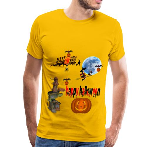 Happy Halloween and celebrate the occasion - Men's Premium T-Shirt