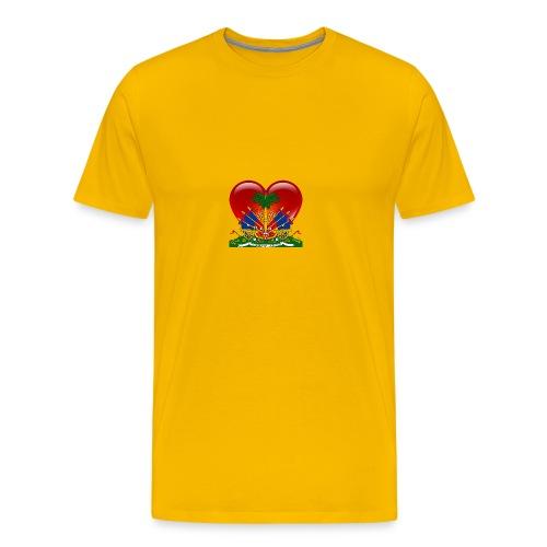 haiti - Men's Premium T-Shirt