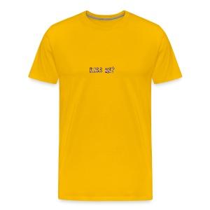 Kiss me? tank tops - Men's Premium T-Shirt