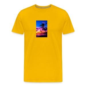 my honeymoon is going to be in Hawaii - Men's Premium T-Shirt