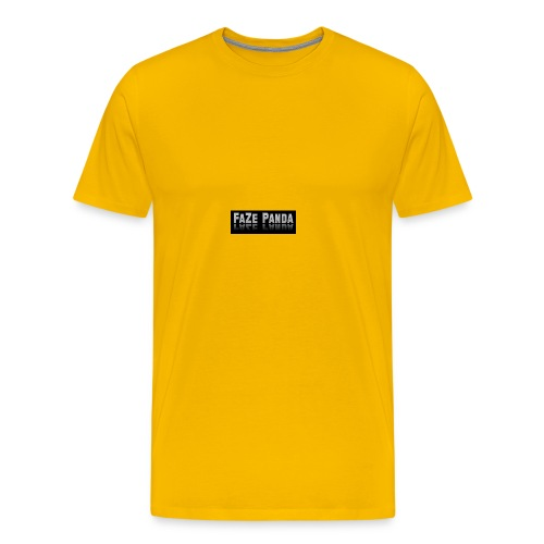 Faze Panda merch - Men's Premium T-Shirt