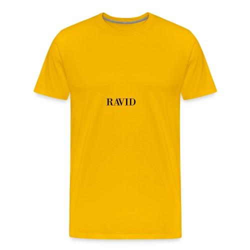 ravid_logo_black - Men's Premium T-Shirt