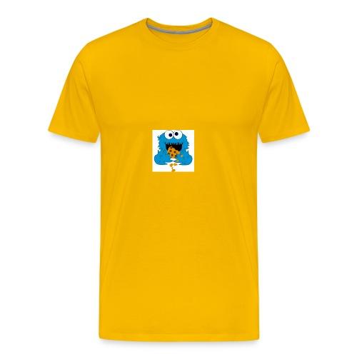 Cookie Monster - Men's Premium T-Shirt