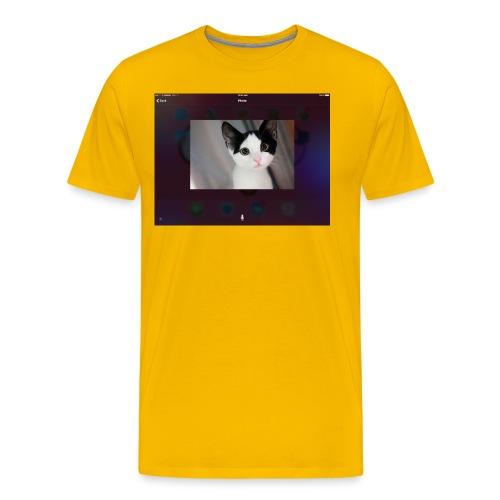 Tineey cat - Men's Premium T-Shirt
