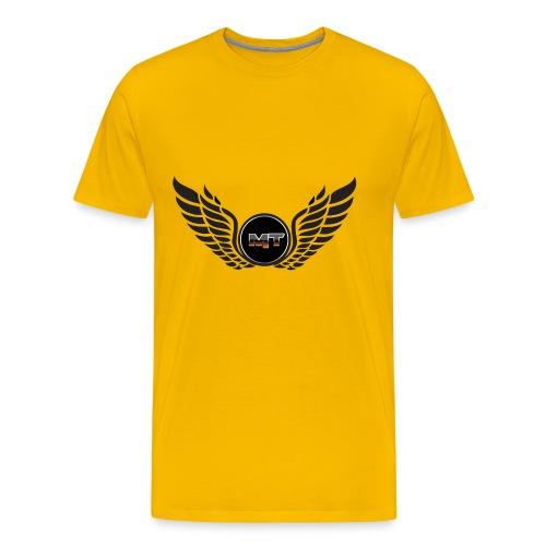 mystery tech wings logo - Men's Premium T-Shirt