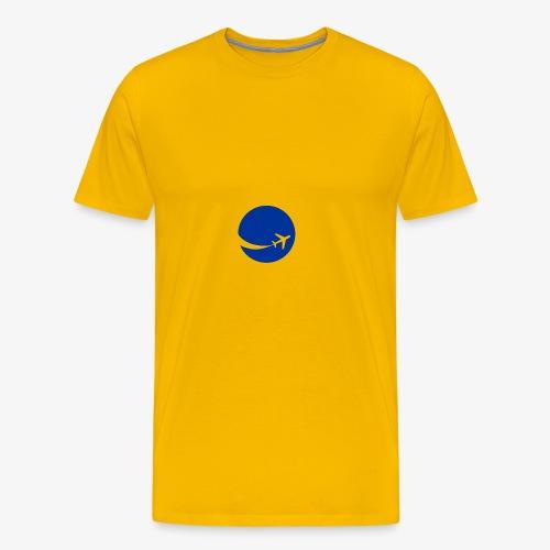 World flyer - Men's Premium T-Shirt