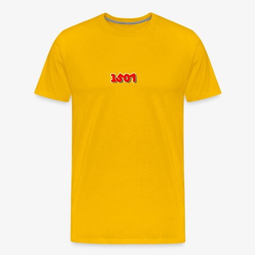 1507 Red/Yellow - Men's Premium T-Shirt