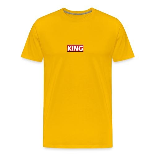 King phone case - Men's Premium T-Shirt