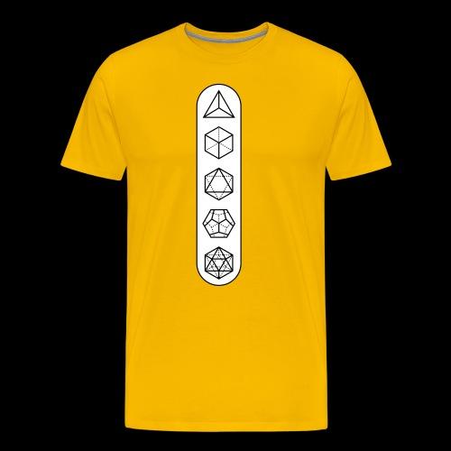 platonic-white-bg - Men's Premium T-Shirt