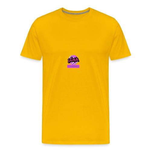 CHANNEL JANA - Men's Premium T-Shirt