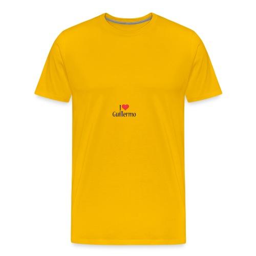 Guillermo designstyle i love m - Men's Premium T-Shirt