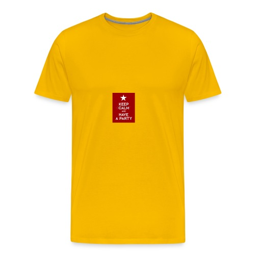 keep calm and have a party - Men's Premium T-Shirt