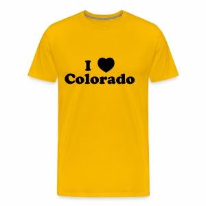 colorado heart - Men's Premium T-Shirt