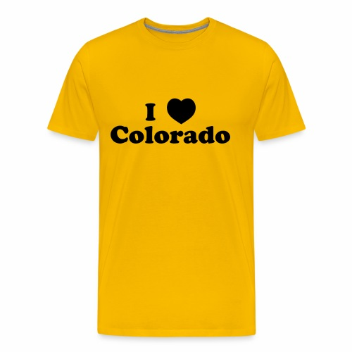 colorado heart - Men's Premium T-Shirt