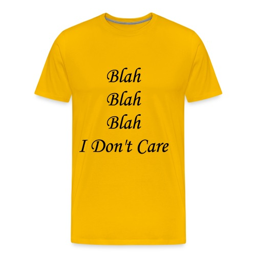 blah blah blah - Men's Premium T-Shirt