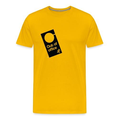 Out Of Office Door Hanger - Men's Premium T-Shirt